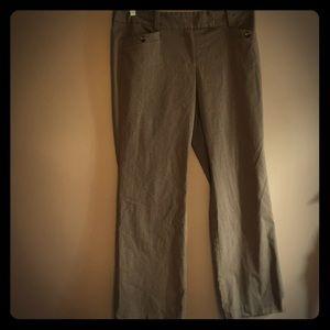 Ann Taylor Signature tan dress pants size 12